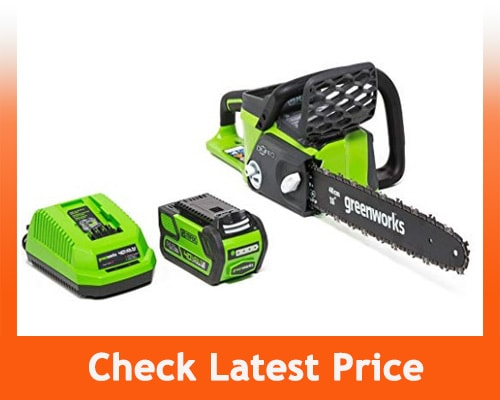 best electric chainsaws - Greenworks Cordless Chainsaw, 16-inch