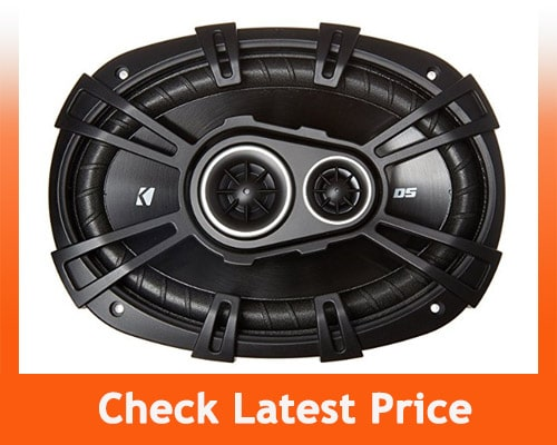 best 6x9 speakers - Kicker 43DSC69304– 3-Way Coaxial Car Audio Speakers