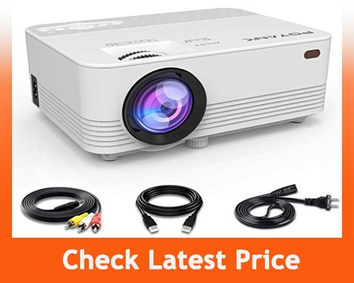 best projectors under 100 - POYANK Mini Projector- 2000 Lumens LED Projector