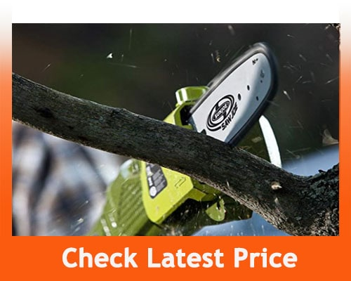 best electric chainsaws - The Sun Joe 8-inch Pole Electric Chain Saw