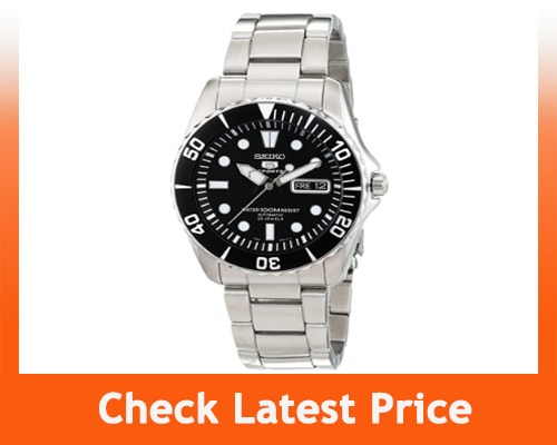 best dive watches under $200 - Seiko 5 SNZF17