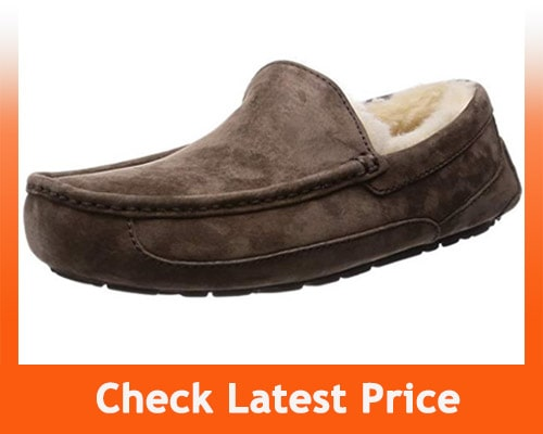 best house slippers for hardwood floors - UGG Men's Ascot