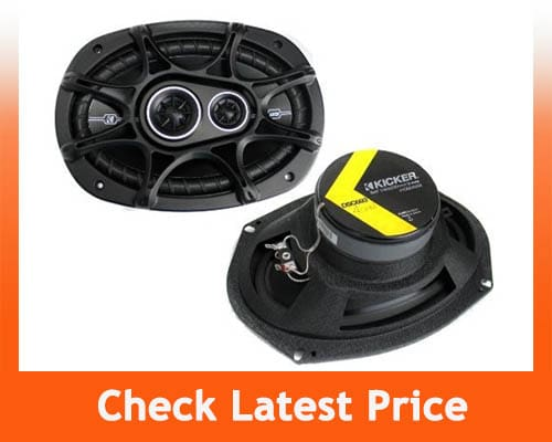 best 6.5 speakers for bass - Kicker 41DSC654 D-Series Coaxial Speakers