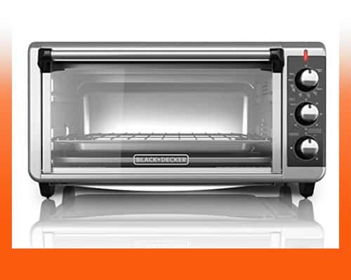 best toaster ovens under $100 - The BLACK+DECKER 8-Slice Extra Wide Toaster Oven