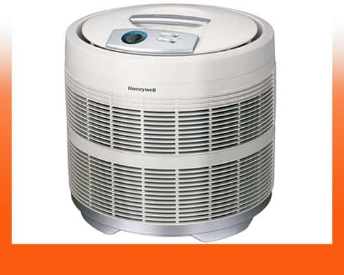 best air purifier for smoke - Honeywell 50250-S 390 sq. ft. True HEPA Filter Air Purifier