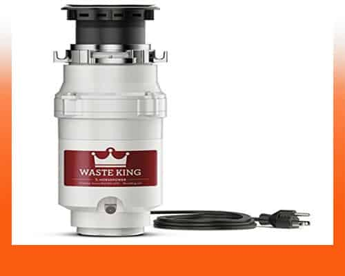 Quiet Garbage Disposal - Waste King Legend L-1001 ½ HP