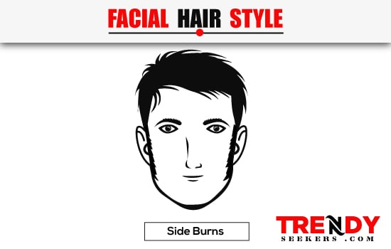 Side Burns Beard Style