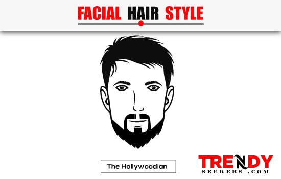 The Hollywoodian Beard Style