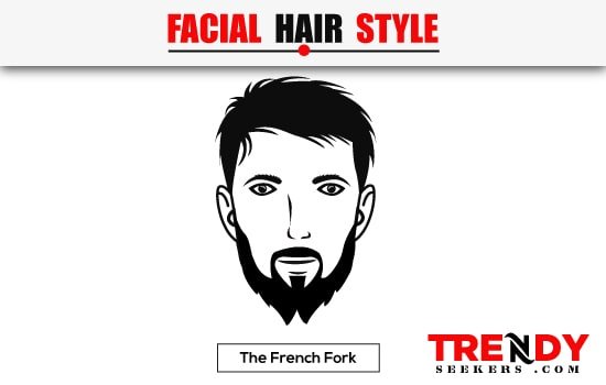 The French Fork Beard Style