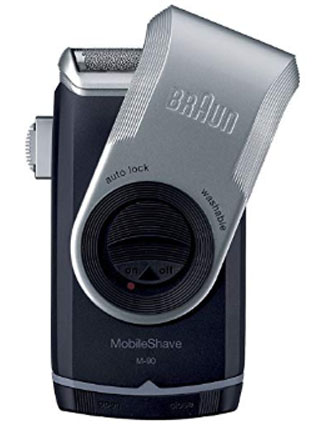 Braun M90 Mobile Shaver for Precision Trimming