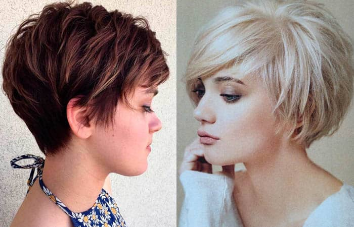 Layered Short Bob Haircut
