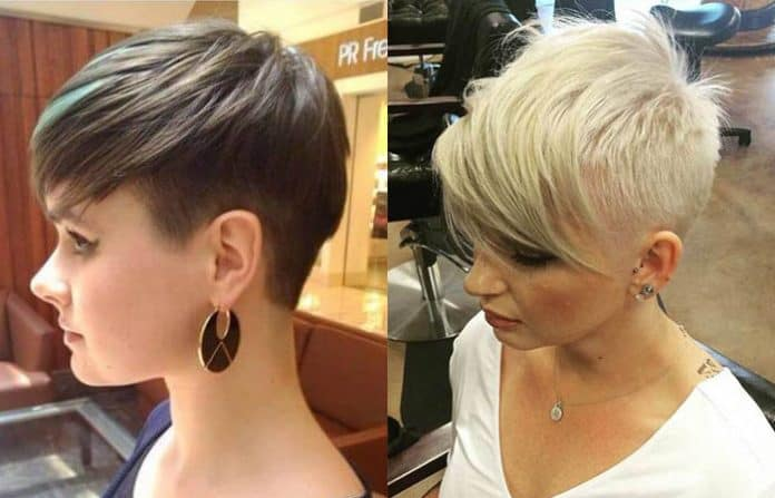 Celebrity short hair fall 2019