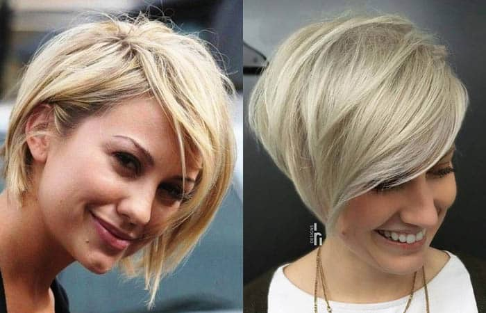 Female celebrity haircuts 2019