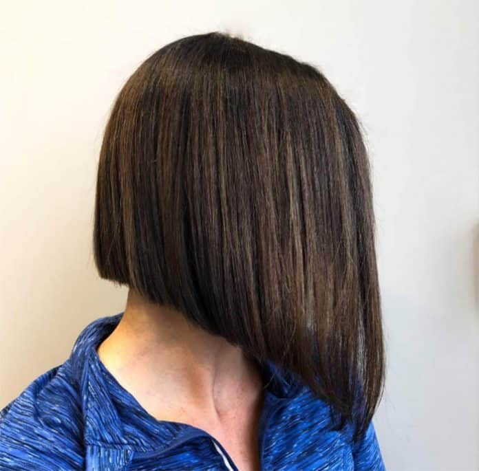 Asymmetrical Medium Length Hairstyle