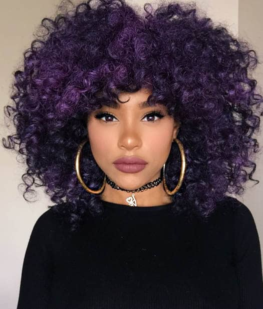 Colourful 'Fro For Black Women