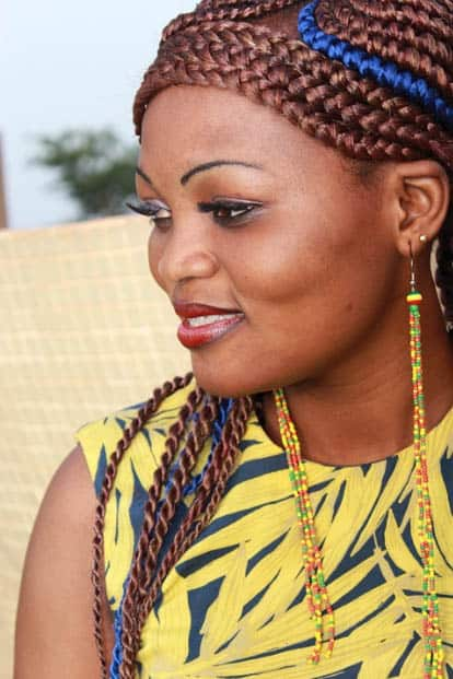 Ghana braids Hairstyles For Black Women