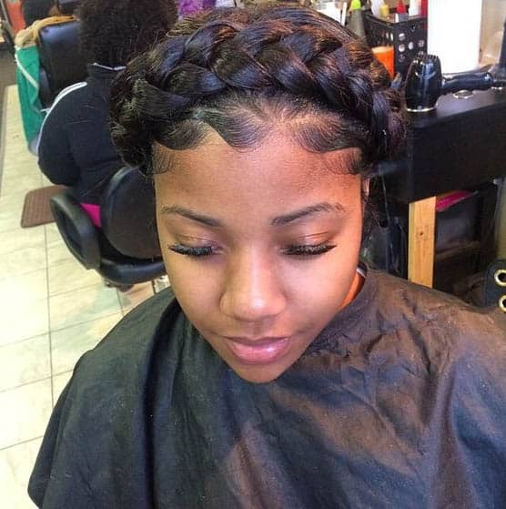 Goddess Braids Hairstyles For Black Women