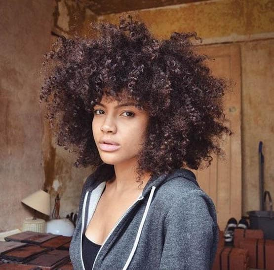 Halo Afro Hairstyles For Black Women