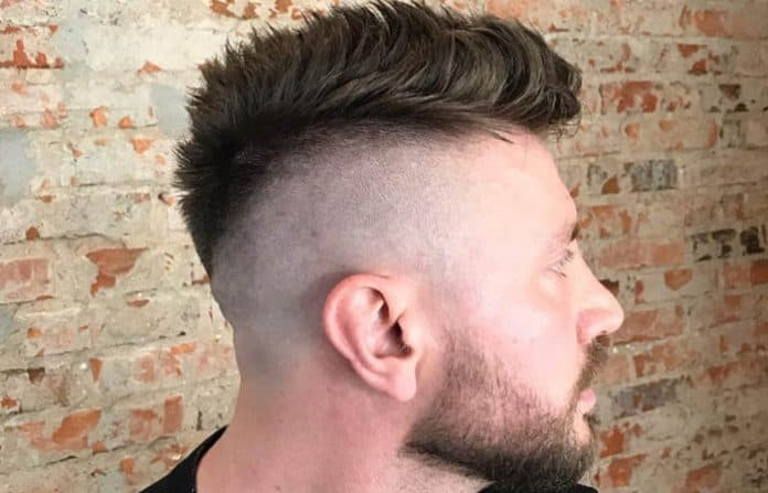 The Faux Hawk Fade