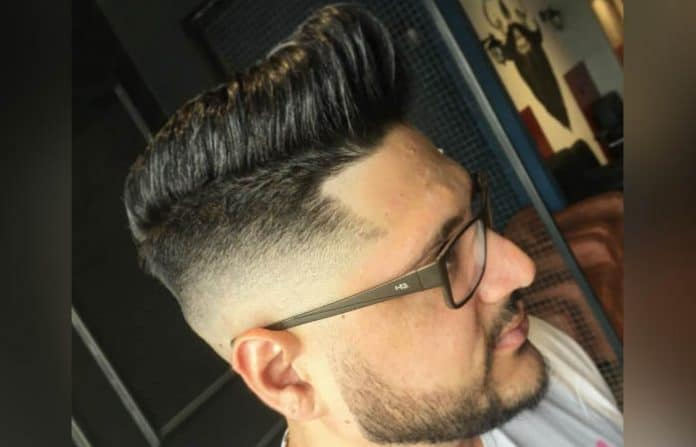 The High Faded Undercut w/ Textured Comb Over