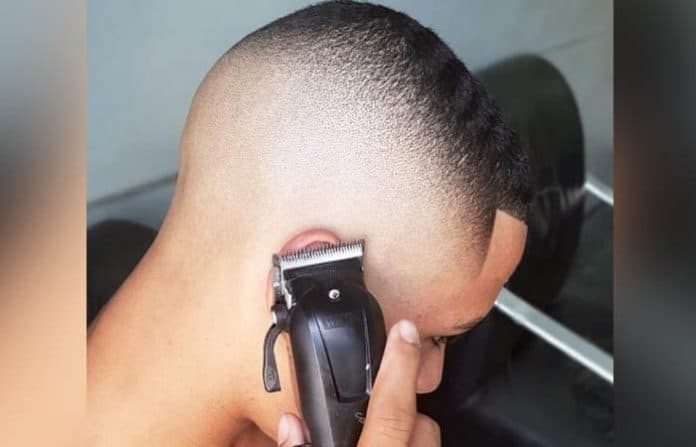 The High Skin Fade w Buzz Cut