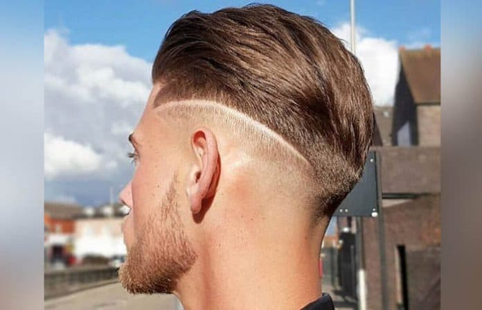 The Low Skin Fade w Hair Design