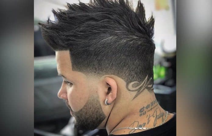 The Temp Fade Haircut