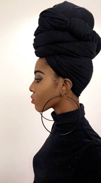 Wrap Up Natural Hairstyles For Black Women