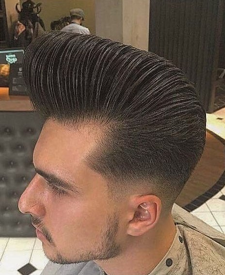 CLASSIC POMPADOUR WITH TAPER