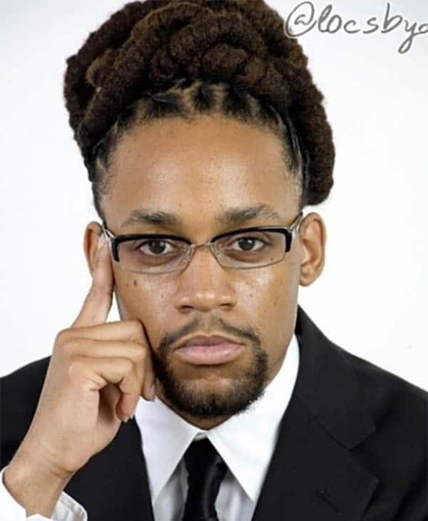 Corporate Dread Lock Styles for Men