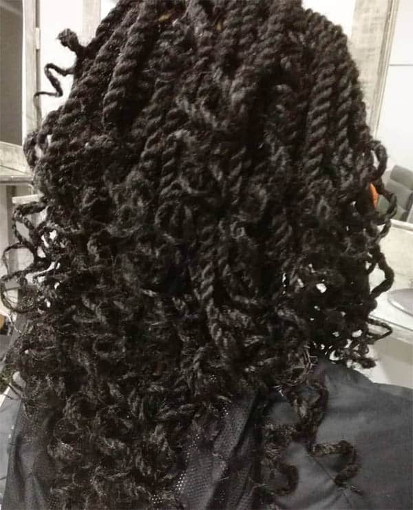 Curly and Chunky Kinky Twists