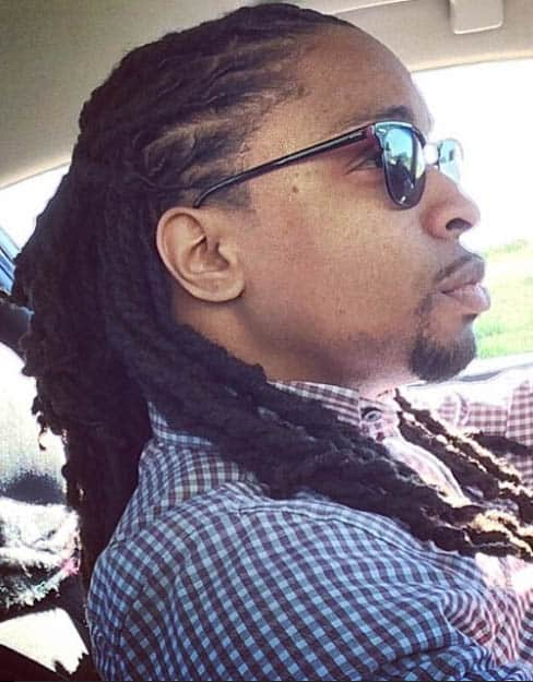 Double Braided Dread Styles