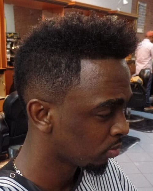 Exotic Mohawk Fade Haircuts