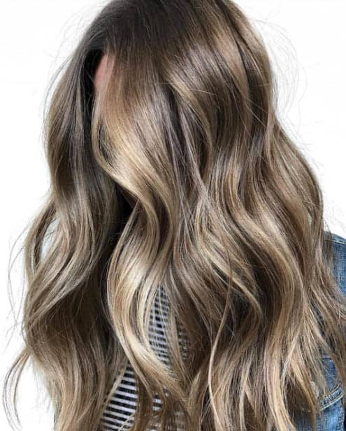 Foilyage - Long Layered Hairstyles