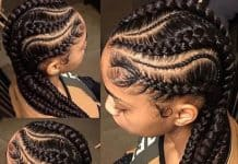 Goddess Braids Styles For Black Hair