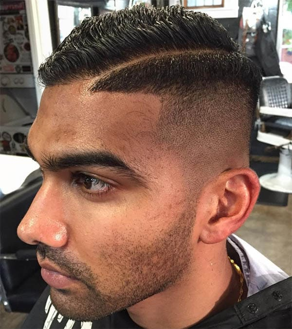 High Bald Fade Sides Part Haircuts
