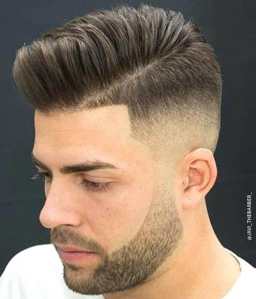 High Fade - Comb Over Fade Haircuts