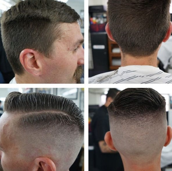 High and Tight - short haircut for men