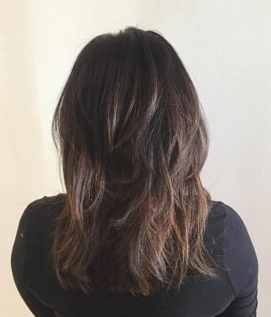 Layered Blow Out - Long Layered Hairstyles