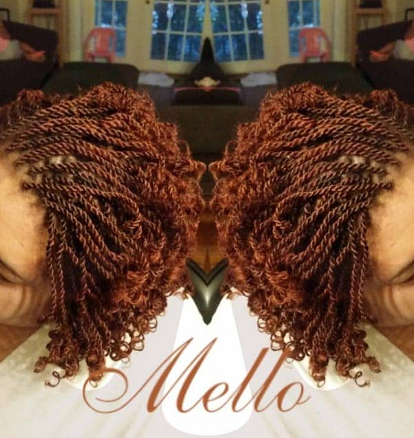 Long Curly Mini Kinky Twists Hairstyles