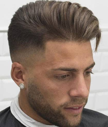 Long Hair Comb Over - Comb Over Fade Haircuts