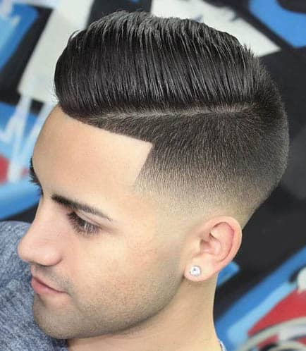 Low Fade - Comb Over Fade Haircuts