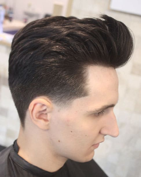 QUIFF WITH LOW TAPER - Taper Haircuts For Men