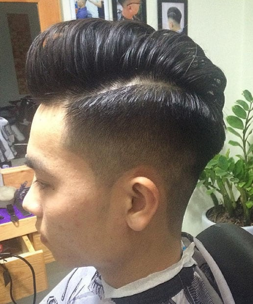 Quiff Haircut - Short Haircuts For Men