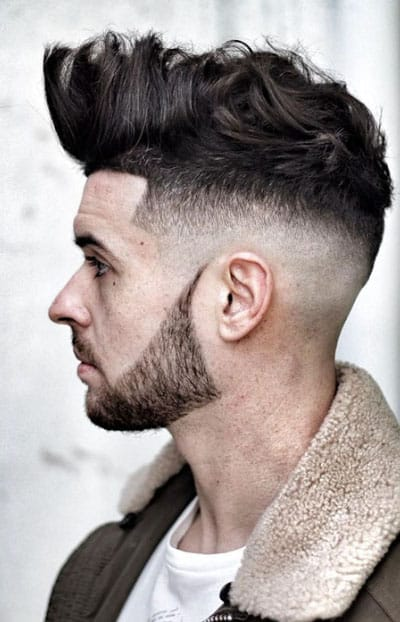 Skin Fade with Quiff Haircut