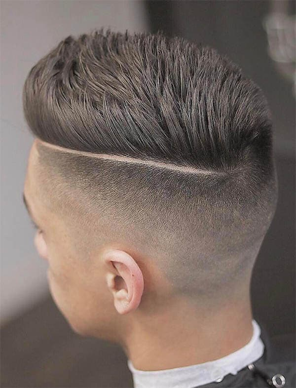 Straight Hair with Side Part - Side Part Haircuts For Men