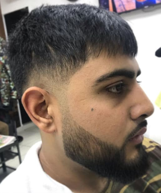 TAPER WITH FRENCH CROP - Taper Haircuts For Men