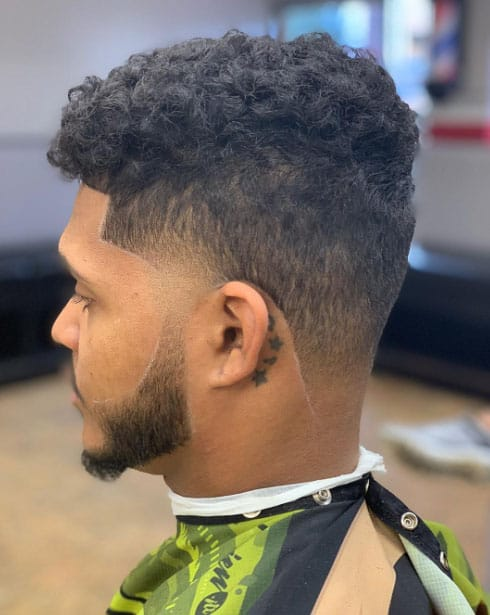 Taper Fade - Best Killermonger Hairstyles