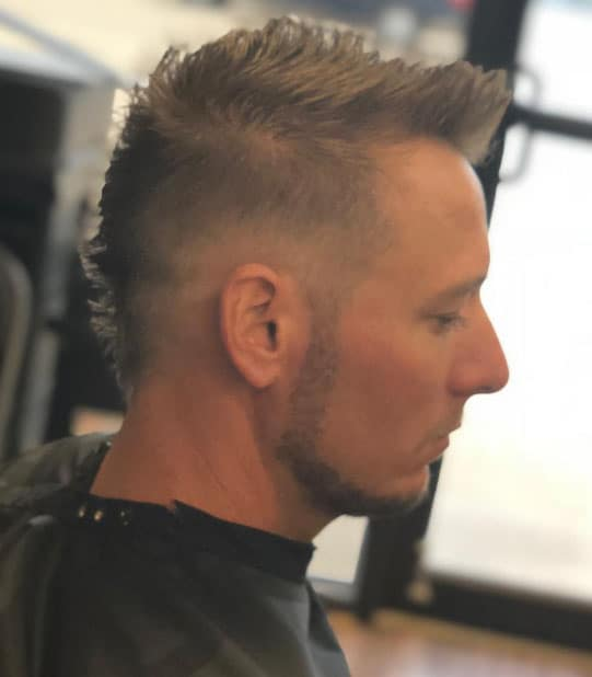 Tapered Mohawk - Short Haircuts For Men