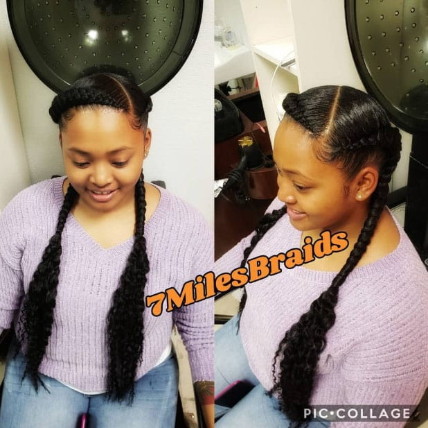 The Goddess Appeal - Goddess Braids Styles